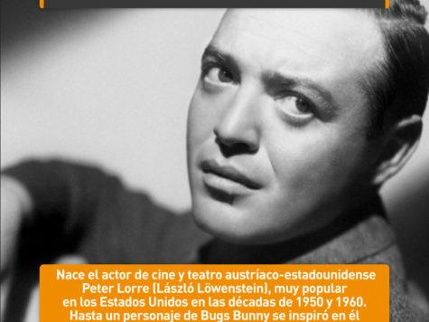 Peter Lorre, astro de Hollywood