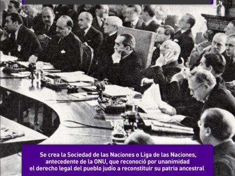 La Liga de las Naciones y la Conferencia de San Remo