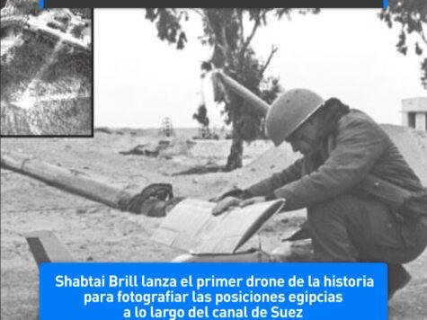 Shabtai Brill lanza el primer drone de la historia