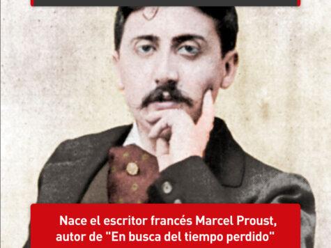 Marcel Proust busca el tiempo perdido