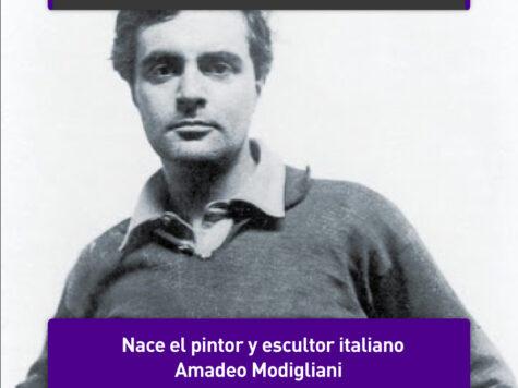 Amadeo Modigliani, artista bohemio como ningún otro