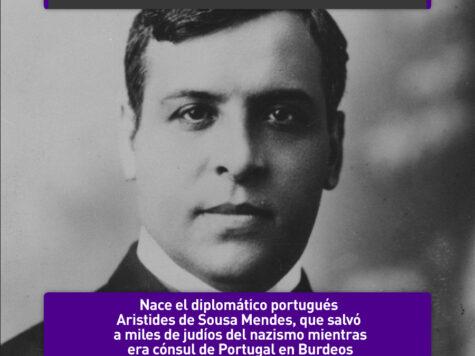 Aristides de Sousa Mendes, Justo entre las Naciones
