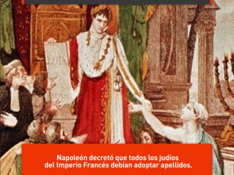 Napoleón y los apellidos judíos