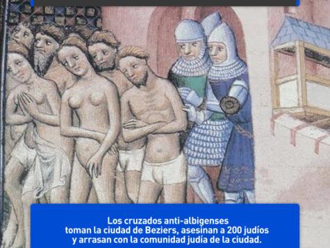 Masacre de los cruzados en Beziers