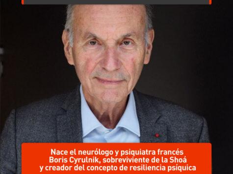 Boris Cyrulnik y la resiliencia