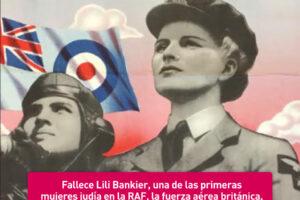 Lili Bankier, una mujer judía en la RAF