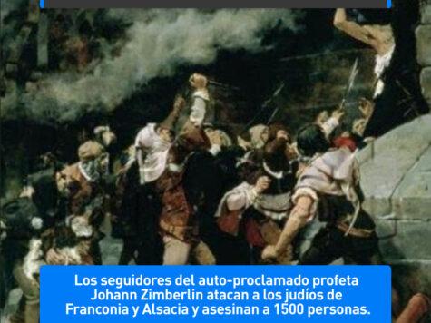 Pogrom en Franconia y Alsacia