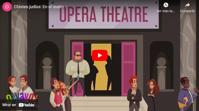 Chistes judíos: En el teatro