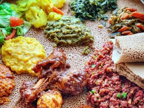 Recetas de los judíos de Etiopía: Injera