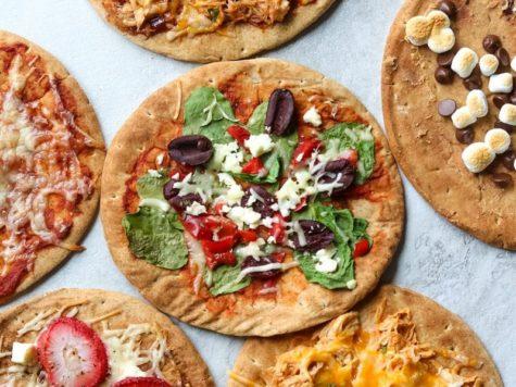 Pizza de pan pita 1