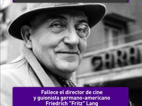 Fritz Lang: 2 de agosto
