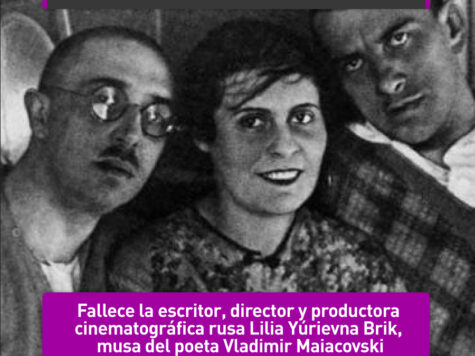 Lilia Brik, musa de Maiacovski