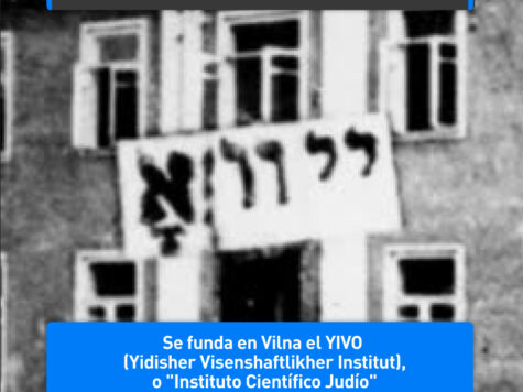 Nokhum Shtif funda el YIVO
