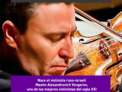 Maxim Vengerov, uno de los mejores violinistas del siglo XXI