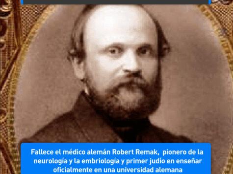 Robert Remak, pionero de la neurología