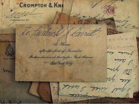 Las viejas cartas nos hablan