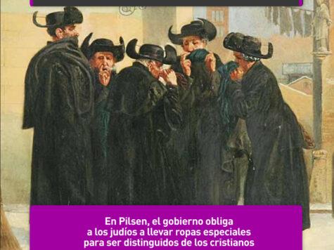 """Los """"abrigos judíos"""" de Pilsen"""