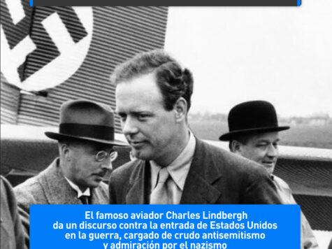 Charles Lindbergh, el amigo de los nazis