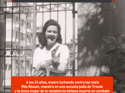 Rita Rosani, maestra y partisana