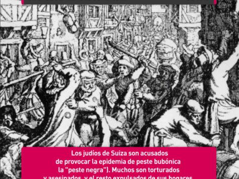 Pogrom y expulsión de Suiza