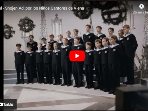 Hael - ShojenAd, por los Niños Cantores de Viena