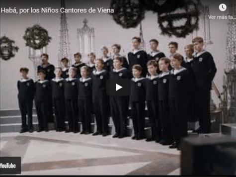 Baruj Habá, por los Niños Cantores de Viena