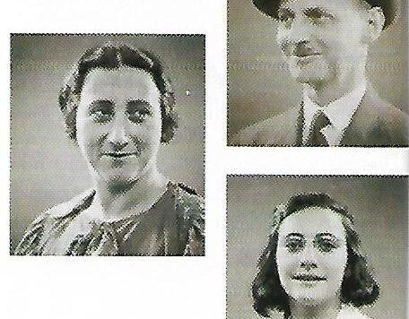 En esta habitación dormían Otto y Edith Frank y su hija Margot...