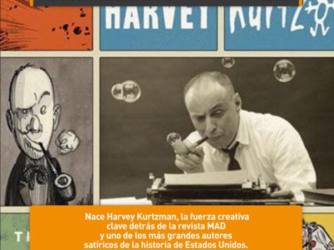Harvey Kurtzman, la fuerza creativa de MAD
