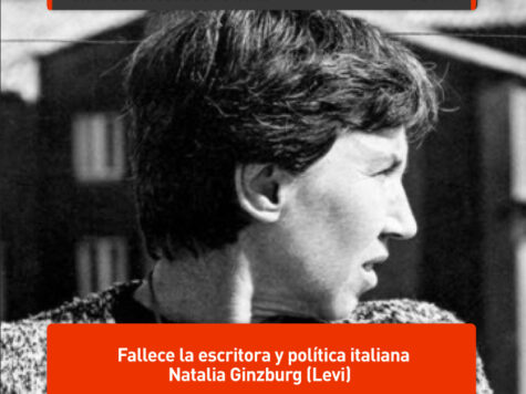Natalia Ginzburg, escritora y política italiana
