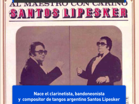 Santos Lipesker, tanguero argentino