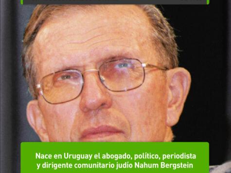 Nahum Bergstein, político y dirigente uruguayo