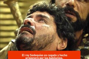 Sedequías, último rey de Judea