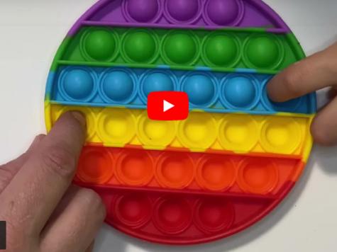 """""""Pop-it"""", el juguete viral creado por un compañero de Ana Frank"""